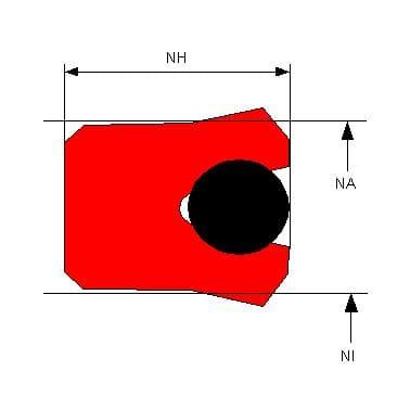 PRS07 1 - Uszczelnienie standardowe Typu S7